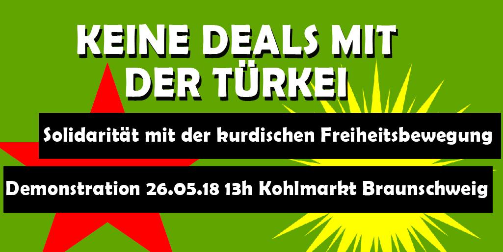 """Redebeiträge der Demo """"Keine Deals mit der Türkei"""" Teil 1"""