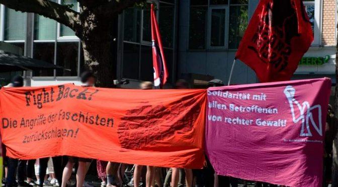 Antifaschistische Demonstration in Braunschweig