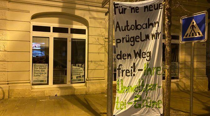 Auch die Grünen lassen für das Autokapital prügeln!