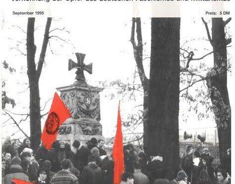 Nazimörder sind keine Helden! Am 15.11. der Verhöhnung der Opfer des NS-Terrors entgegentreten!