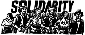 Aktion: Wir arbeiten und zahlen nicht für eure Krise!