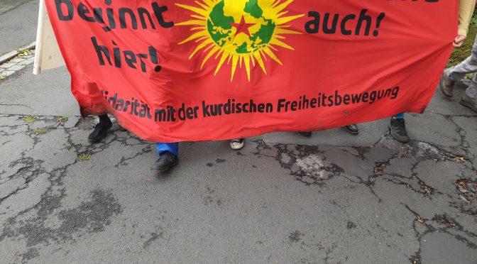 Kriminell sind Rüstungsexporte an autoritäre Regime- nicht der Widerstand! Solidarität mit den Angeklagten in den BAFA-Prozessen!