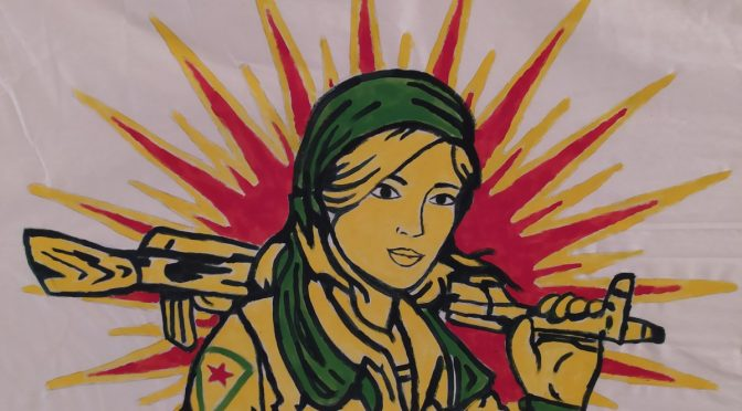 Demobericht zum Internationalen Feministischen Kampftag in Braunschweig