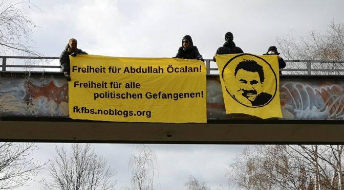 18.März: Internationaler Tag der politischen Gefangenen! Weg mit der Isolation! Freiheit für Abdullah Öcalan!