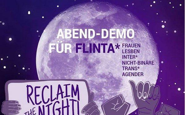 """Kommt am 11. September um 20:30 Uhr auf den Kohlmarkt in Braunschweig zur """"Take back the night""""- Demonstration!"""